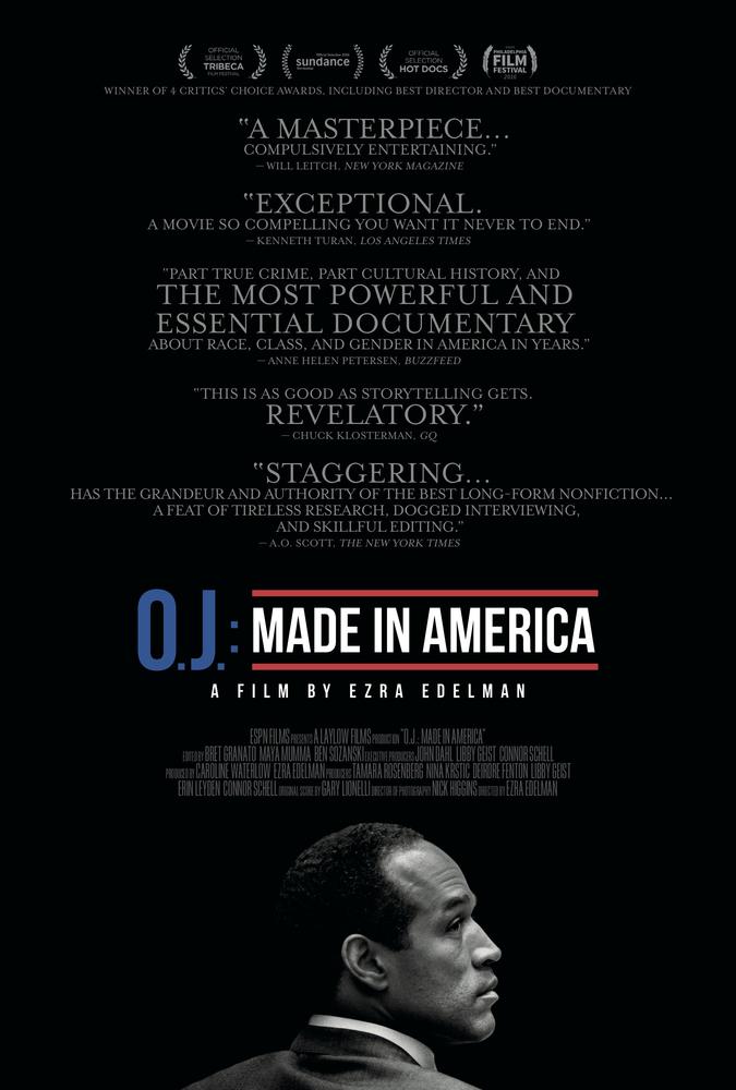 O.J.: Made in America kapak