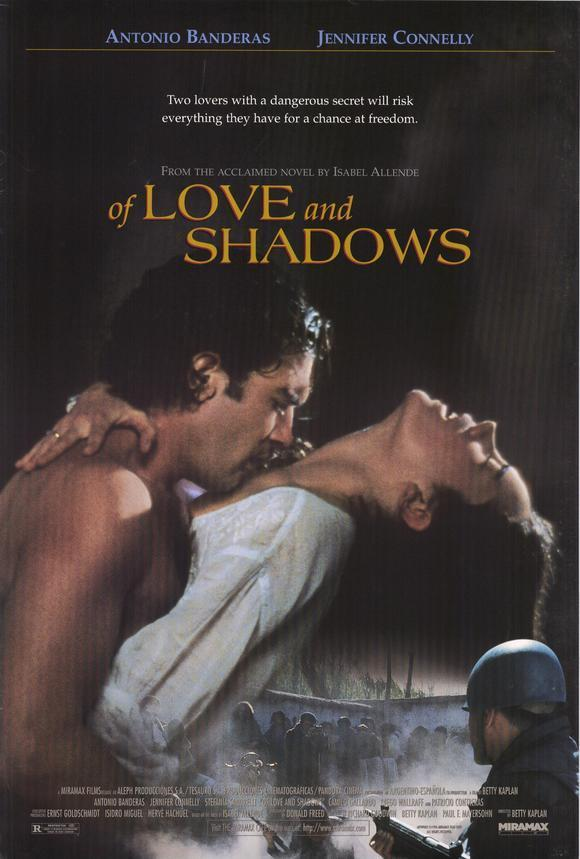 Of Love and Shadows kapak