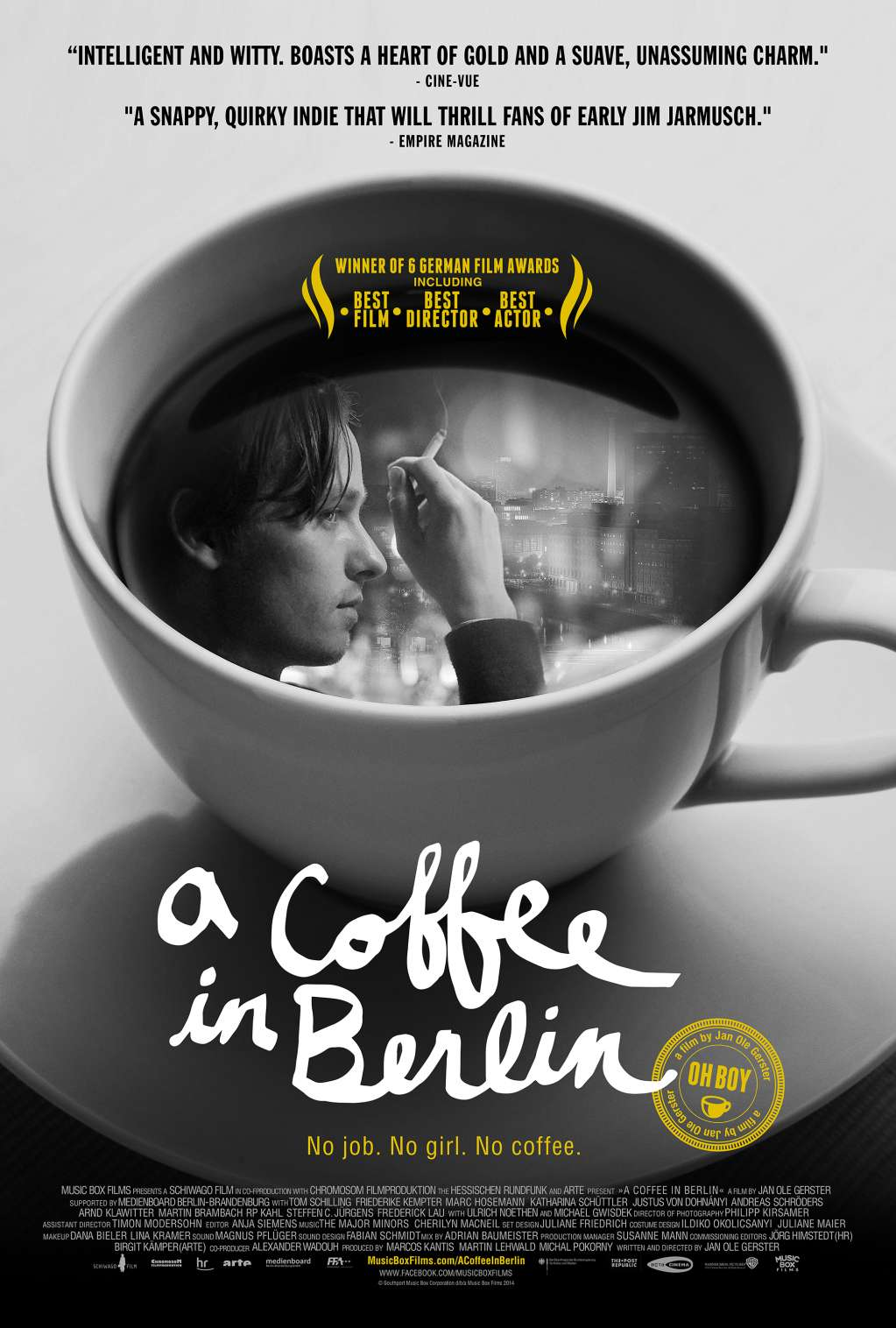 A Coffee in Berlin kapak