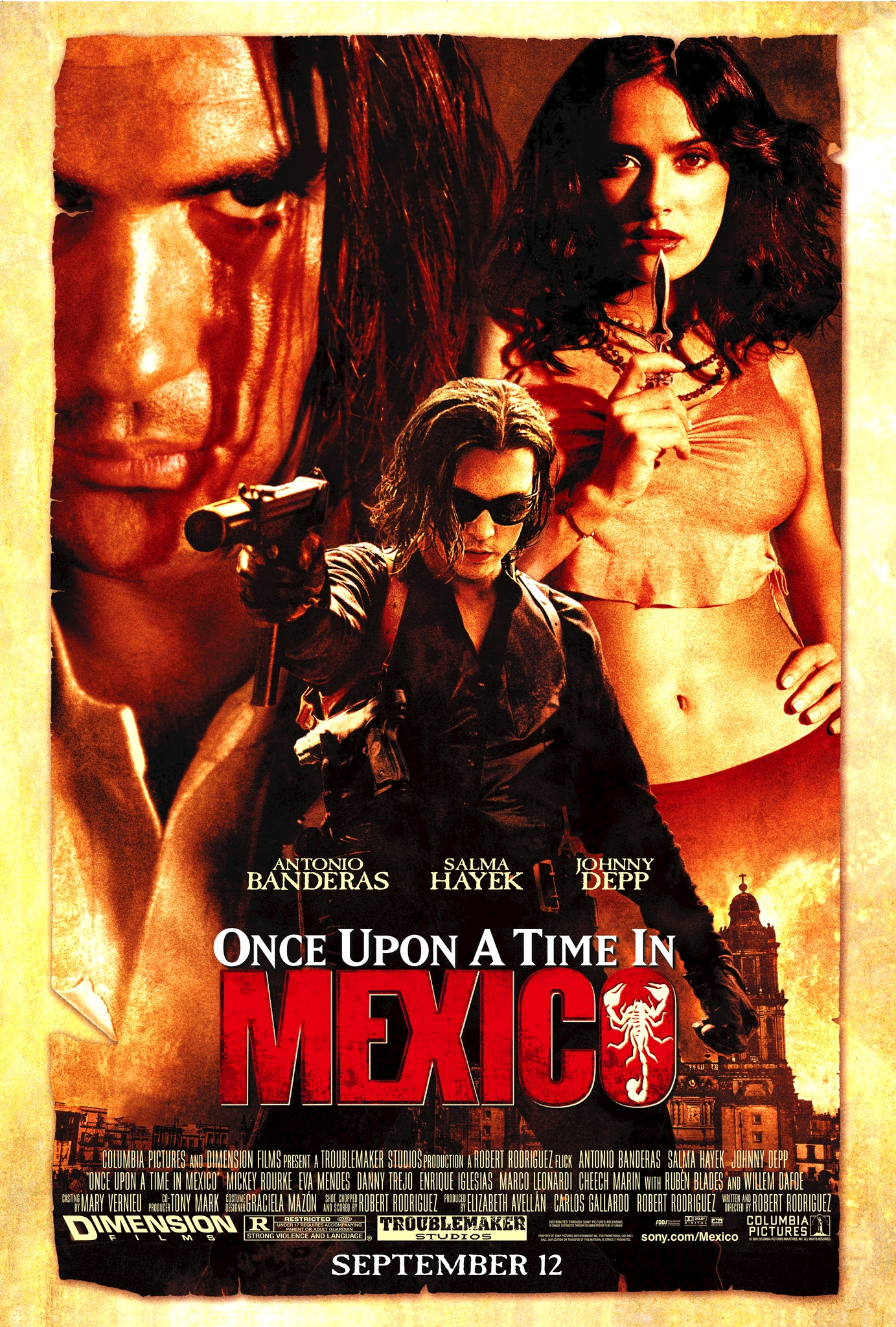 Once Upon a Time in Mexico kapak