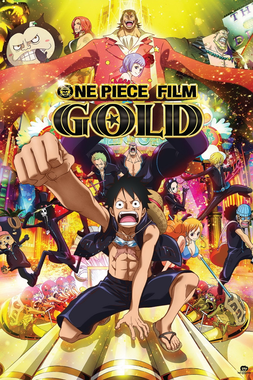 One Piece Film: Gold kapak