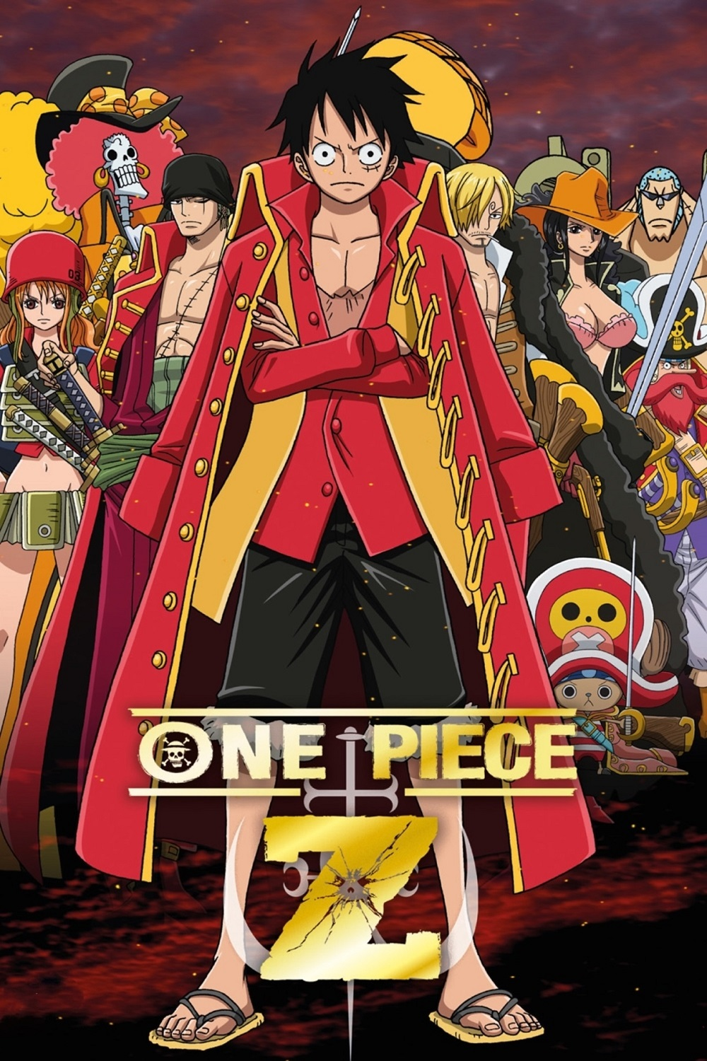 One Piece Film Z kapak