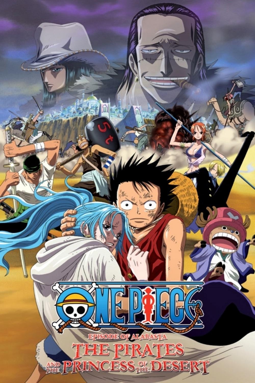 One Piece: Episode of Alabaster - Sabaku no Ojou to Kaizoku Tachi kapak