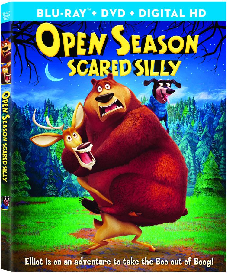Open Season: Scared Silly kapak
