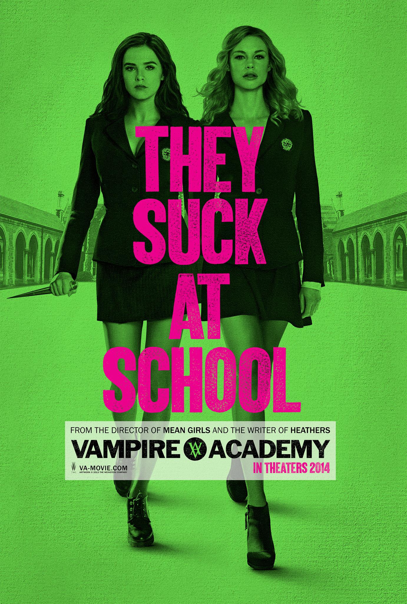 Vampire Academy kapak