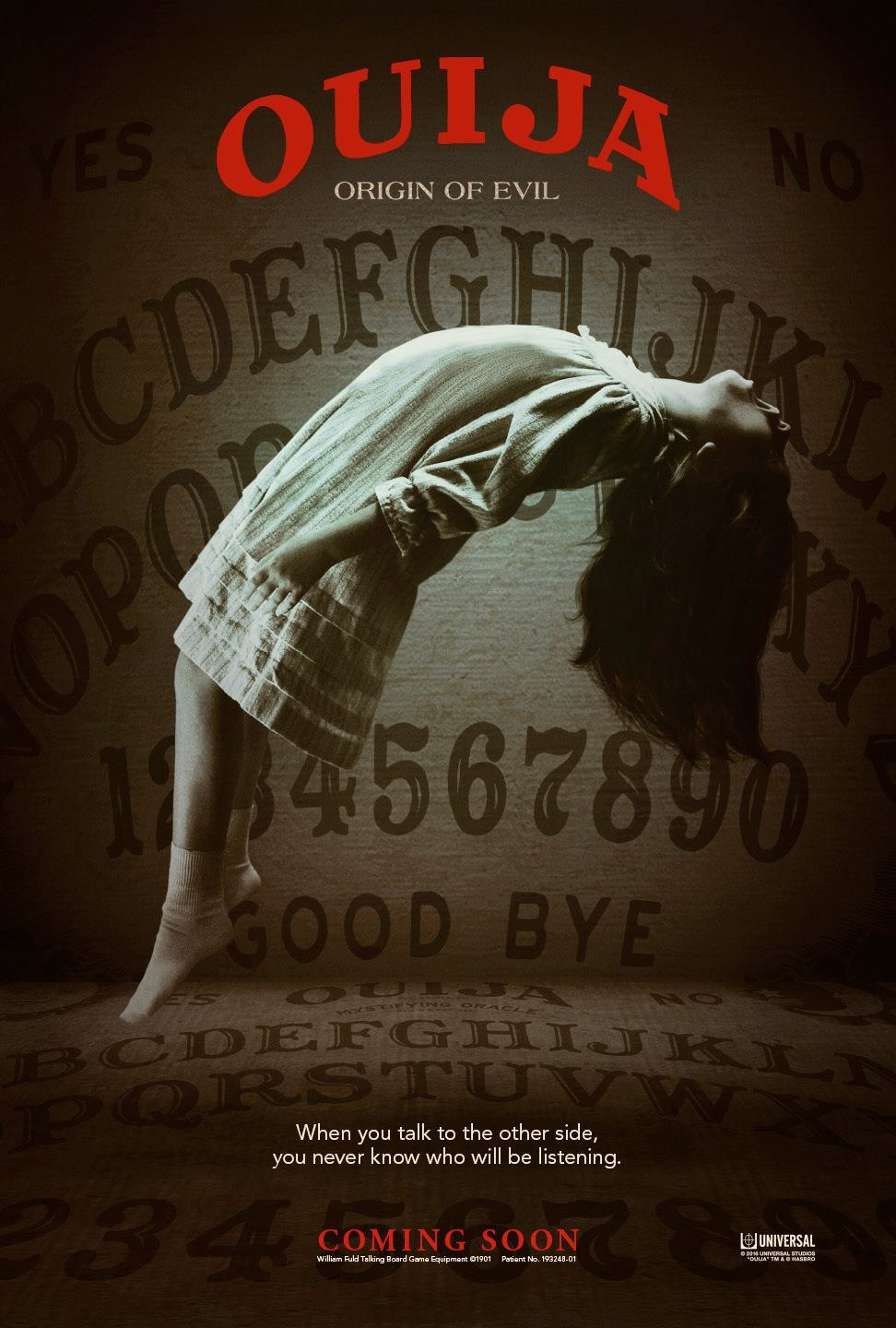 Ouija: Origin of Evil kapak