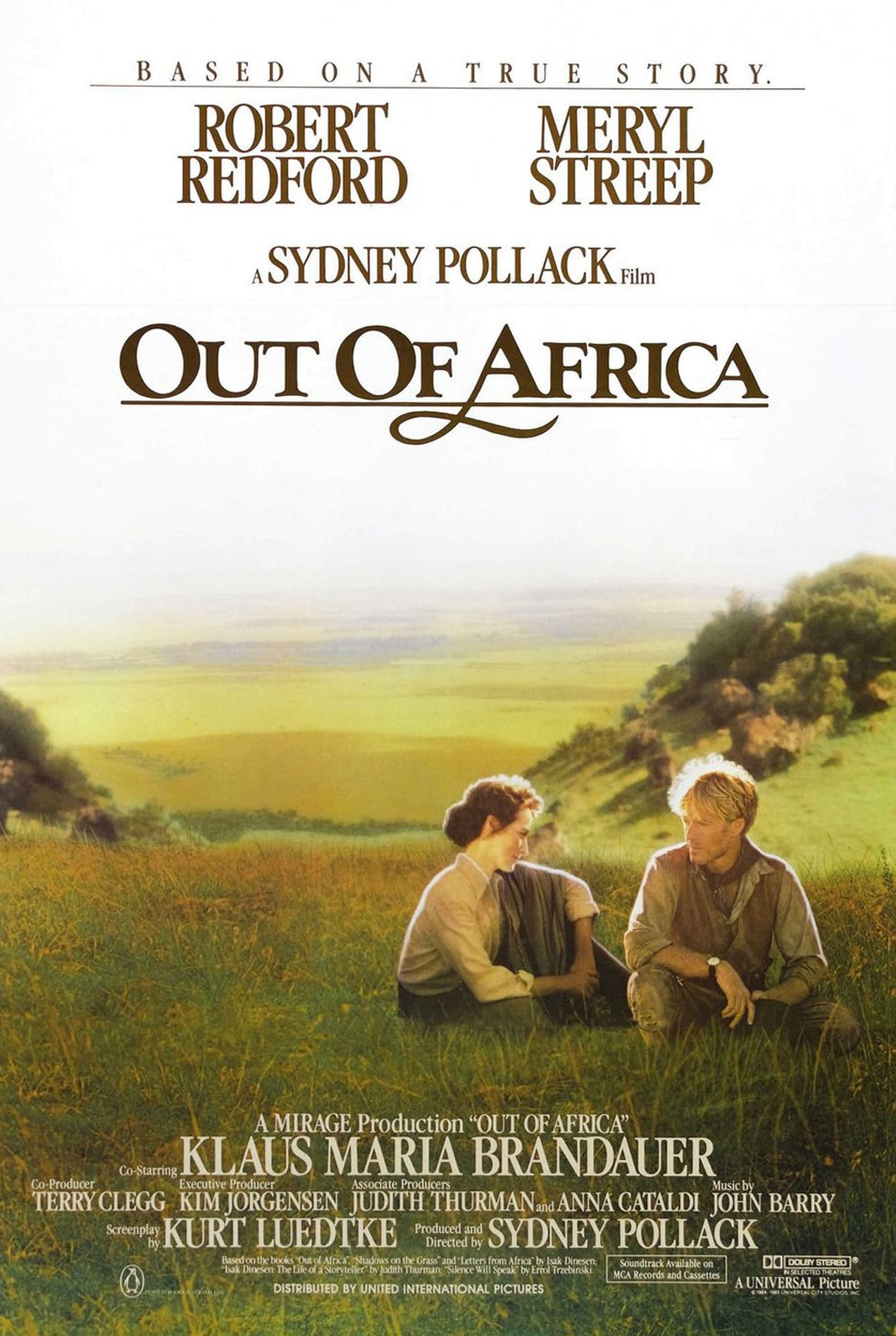 Out of Africa kapak