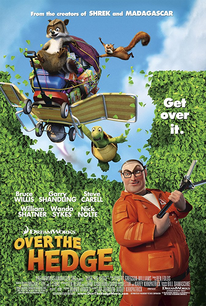 Over the Hedge kapak