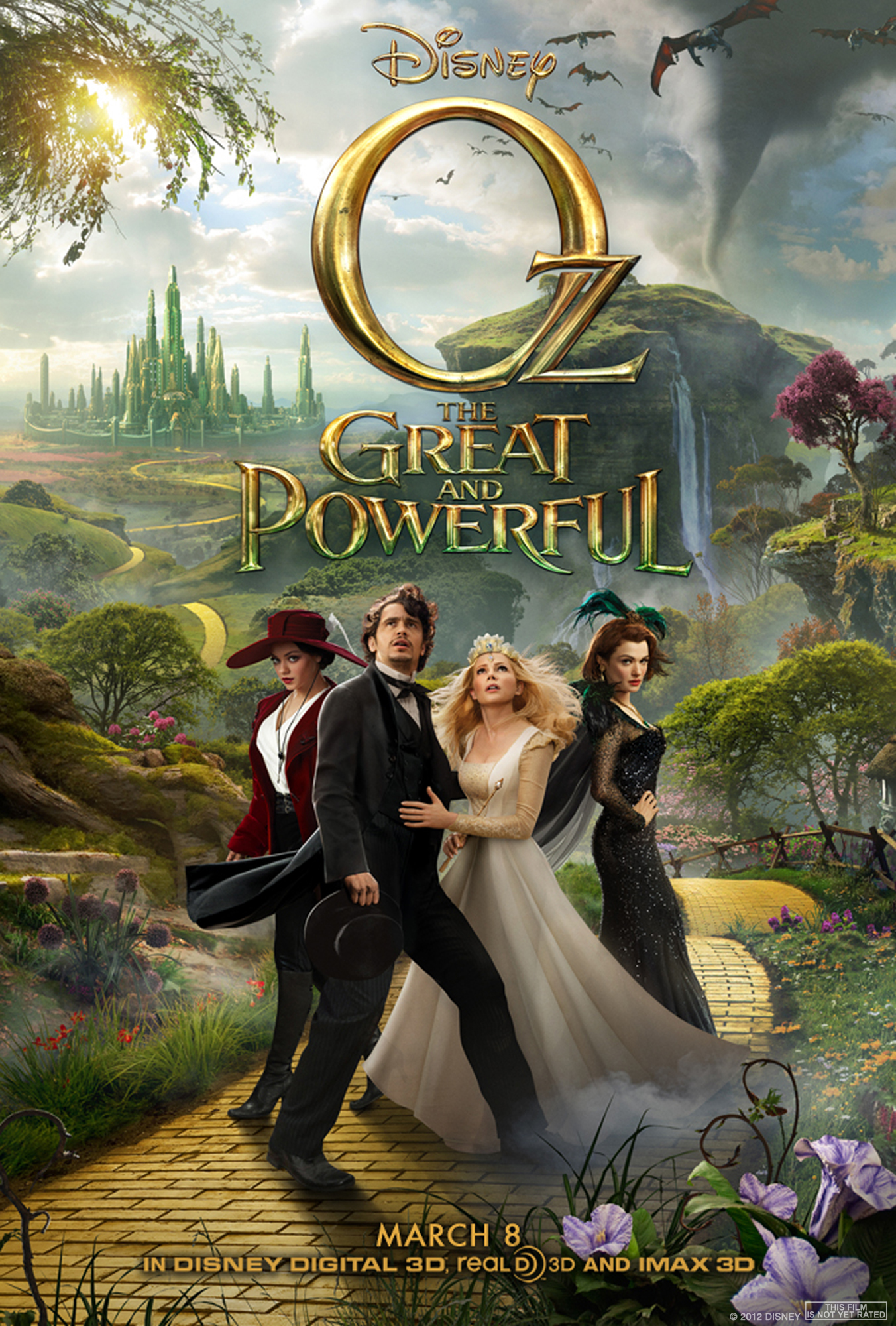 Oz the Great and Powerful kapak