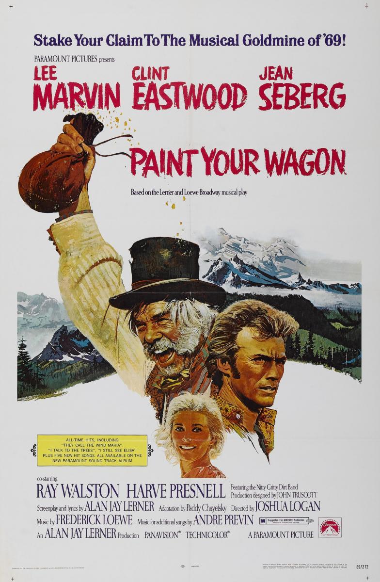 Paint Your Wagon kapak