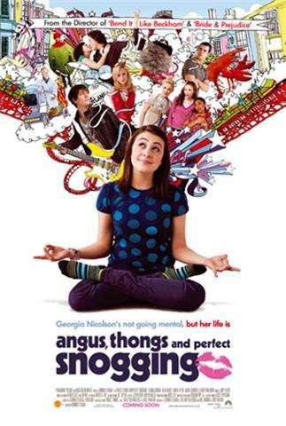 Angus, Thongs and Perfect Snogging kapak
