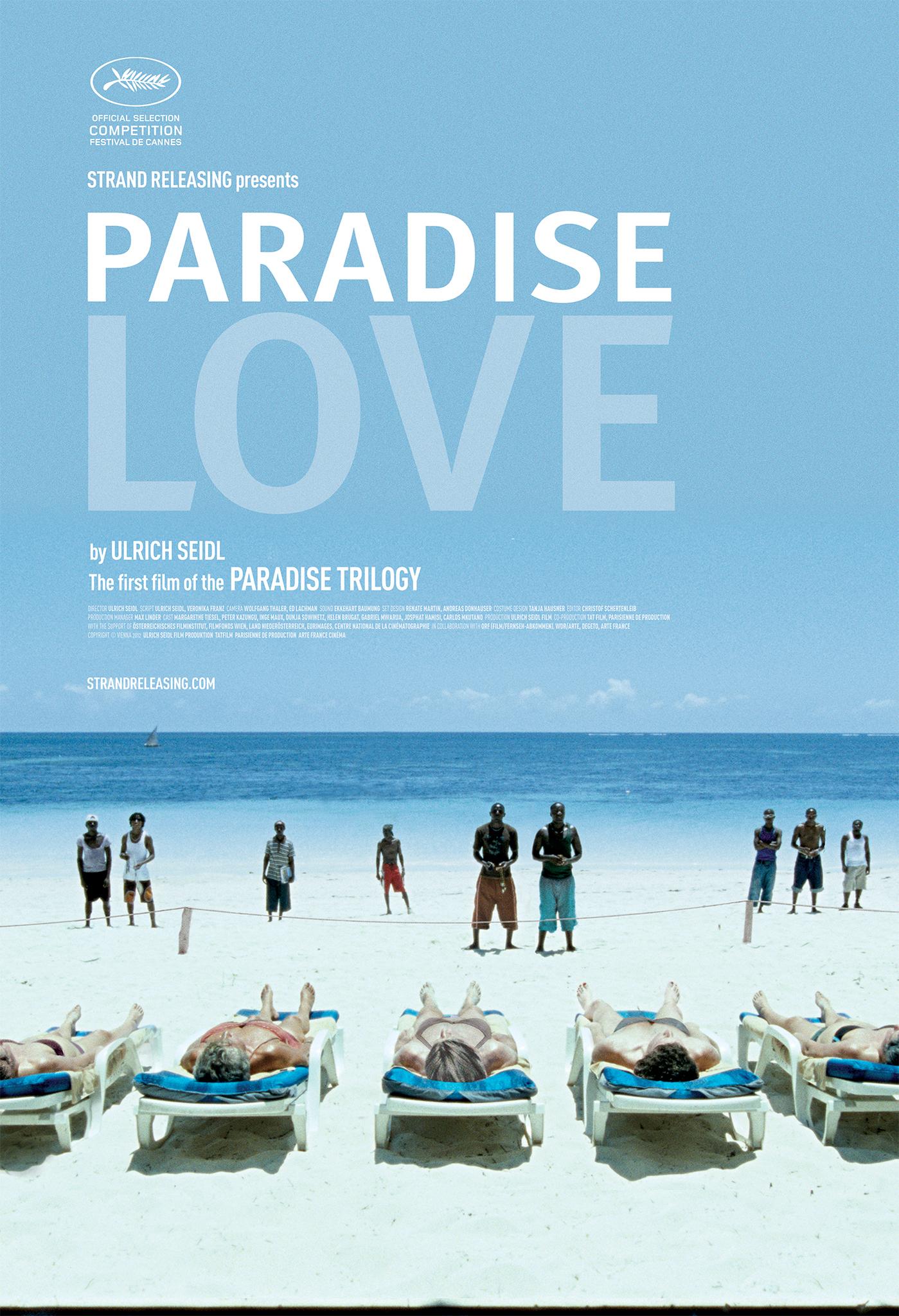 Paradise: Love kapak