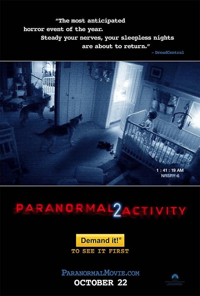 Paranormal Activity 2 kapak