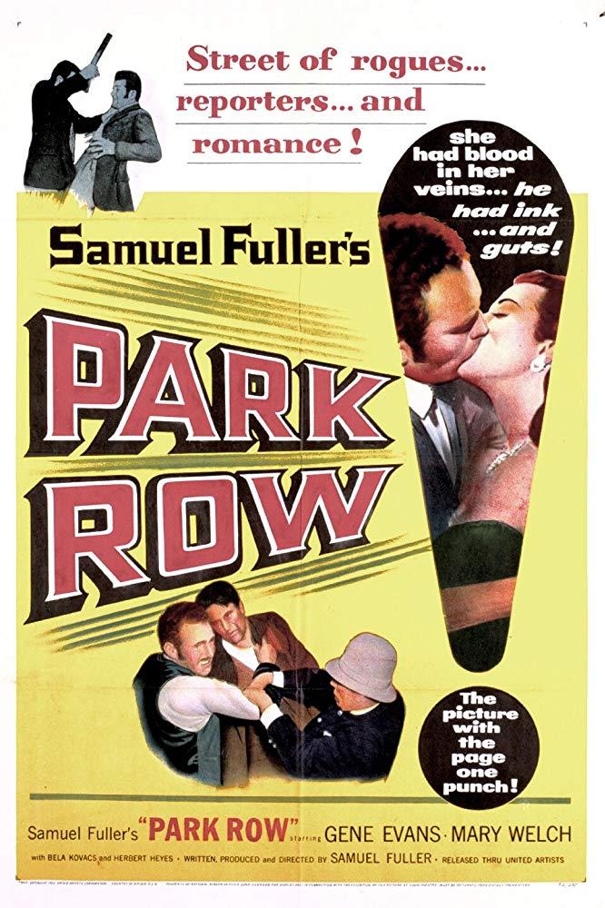 Park Row kapak