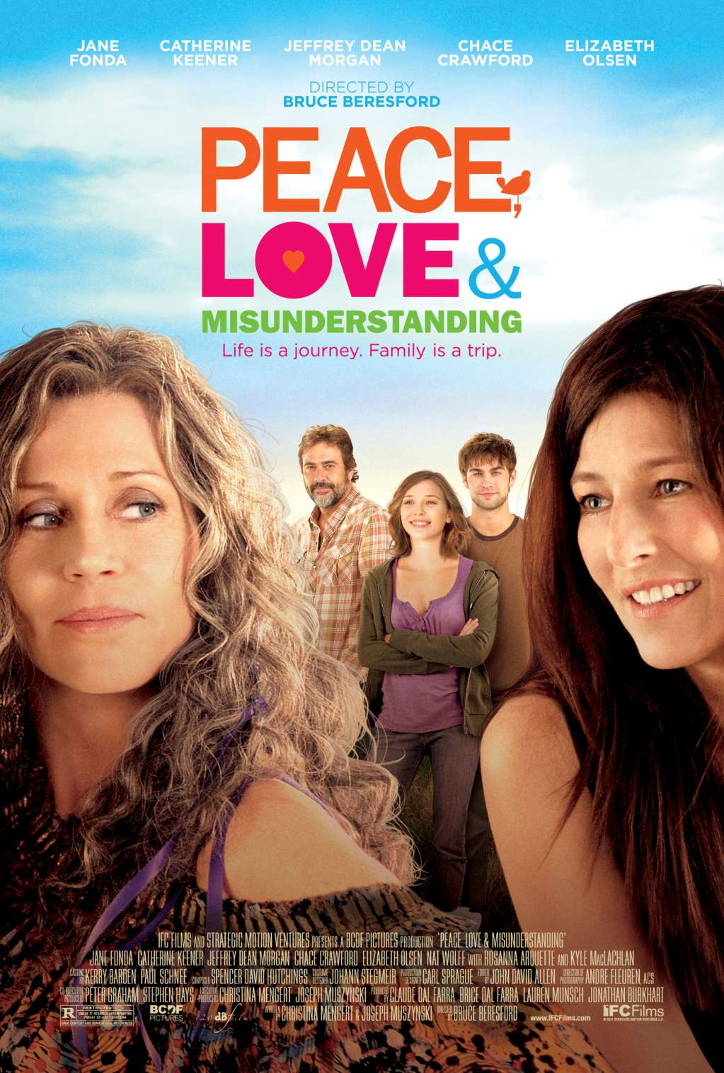 Peace, Love & Misunderstanding kapak