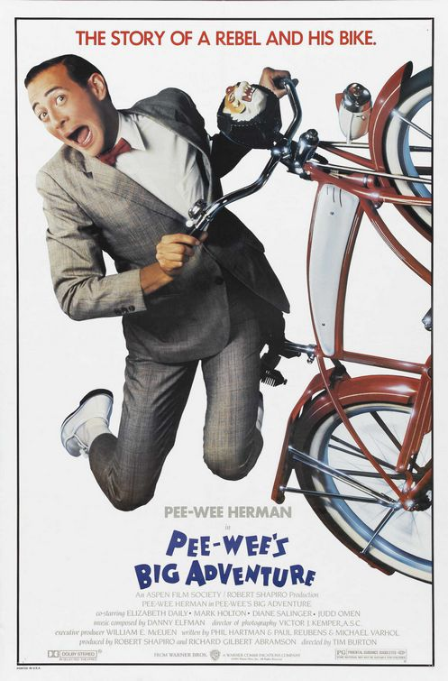Pee-wee's Big Adventure kapak