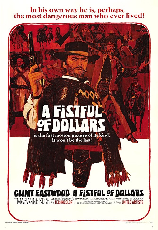 A Fistful of Dollars kapak
