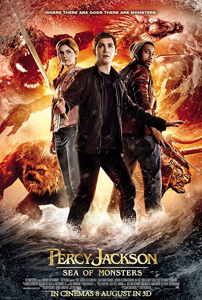 Percy Jackson: Sea of Monsters kapak