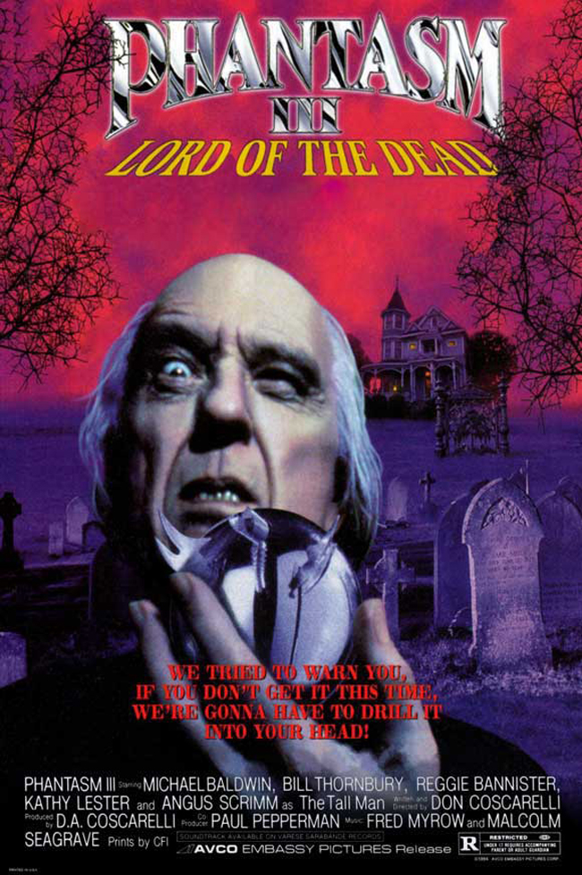 Phantasm III: Lord of the Dead kapak