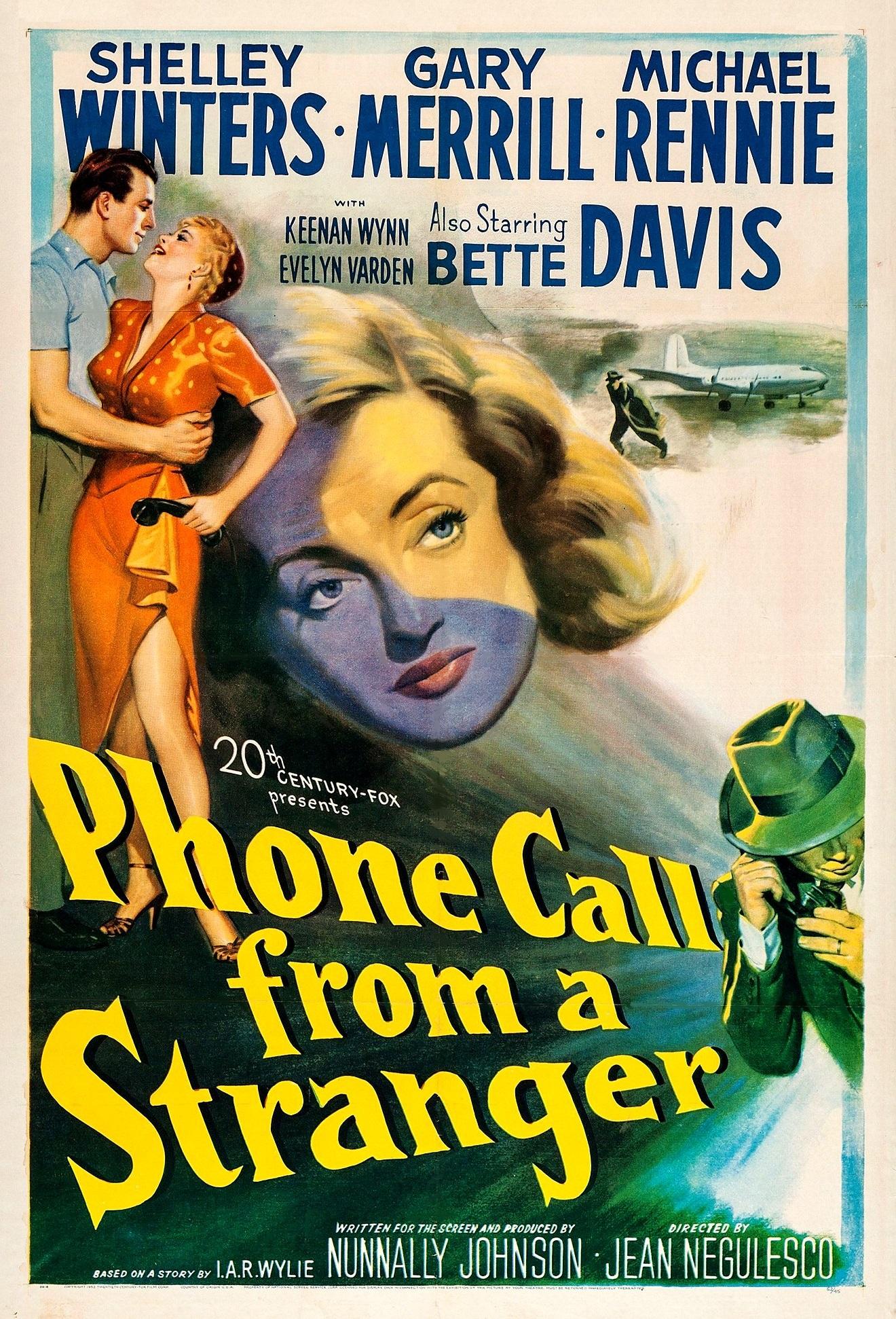 Phone Call from a Stranger kapak