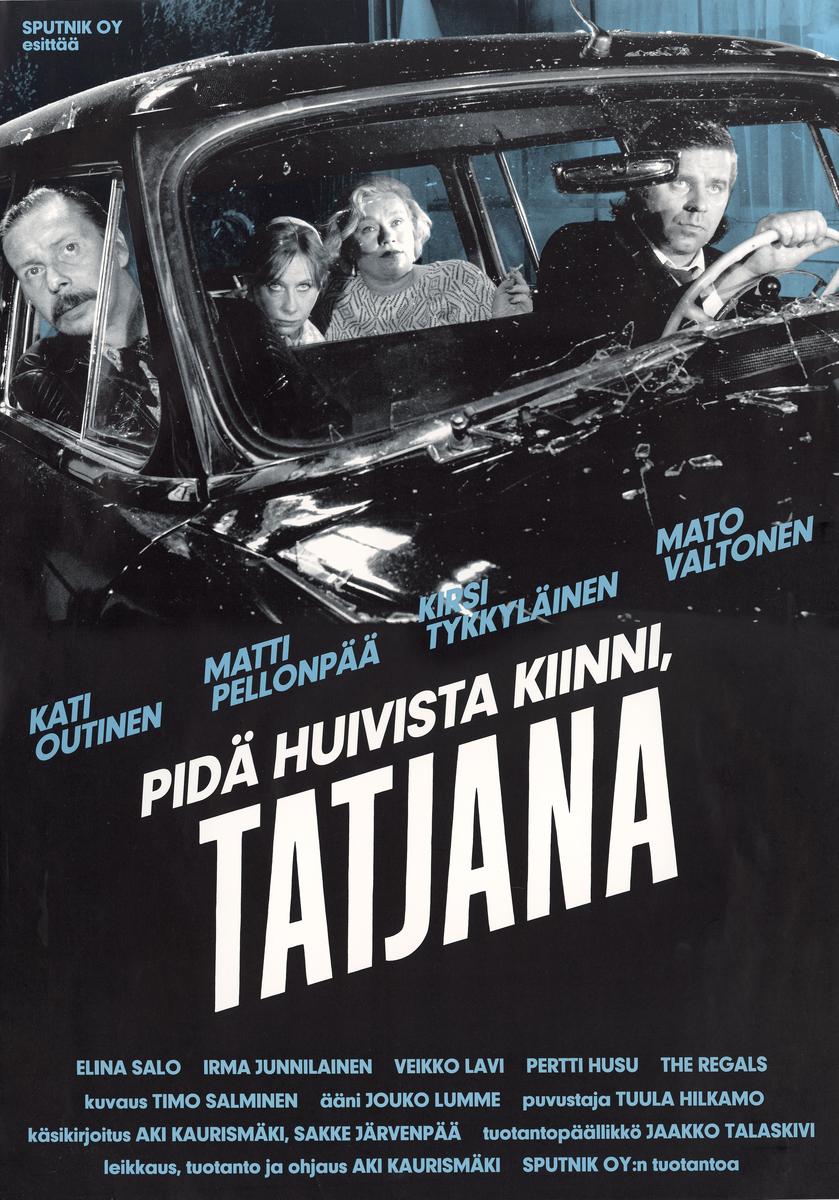Take Care of Your Scarf, Tatiana kapak