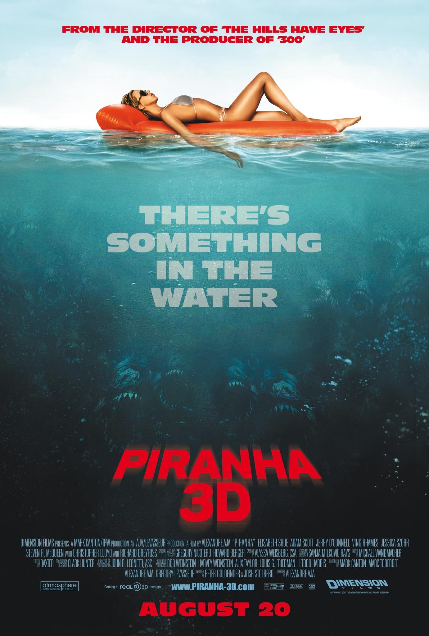Piranha 3D kapak