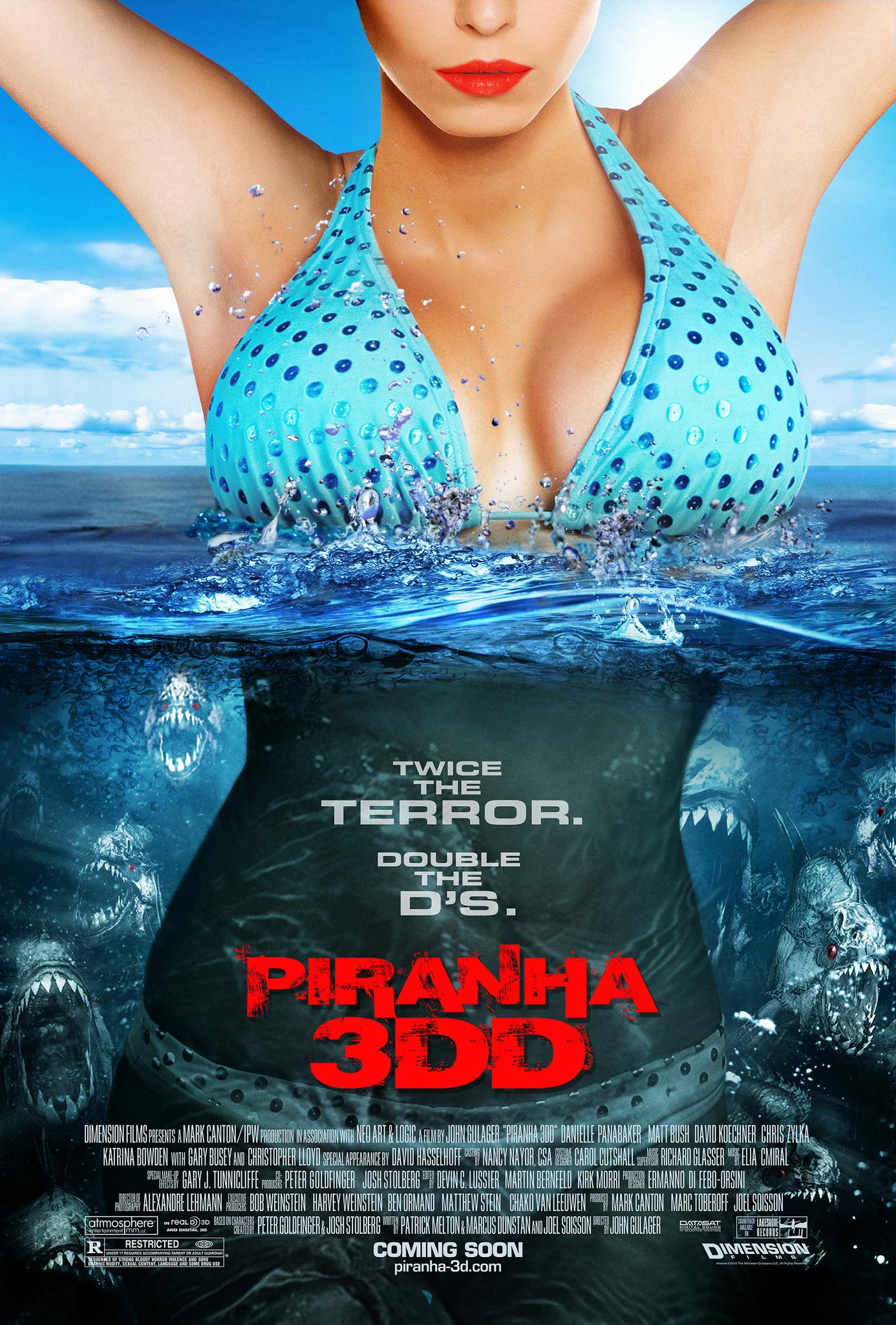 Piranha 3DD kapak