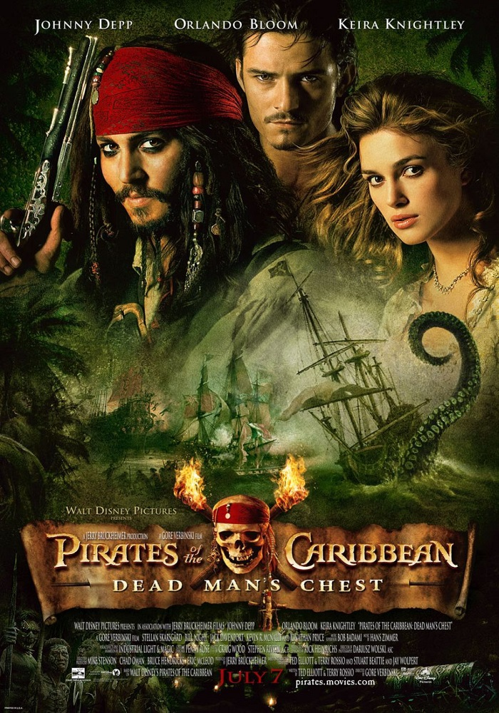 Pirates of the Caribbean: Dead Man's Chest kapak