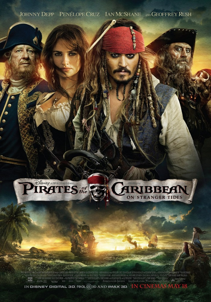 Pirates of the Caribbean: On Stranger Tides kapak