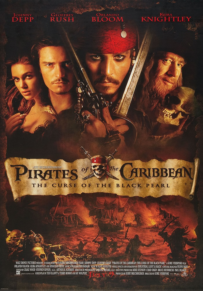 Pirates of the Caribbean: The Curse of the Black Pearl kapak