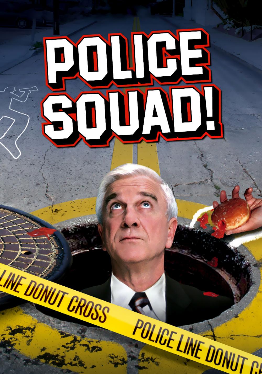 Police Squad! kapak