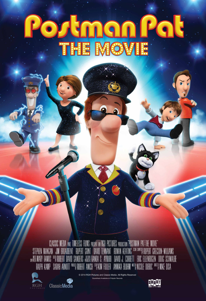 Postman Pat: The Movie kapak