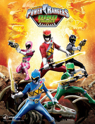 Power Rangers Dino Charge kapak