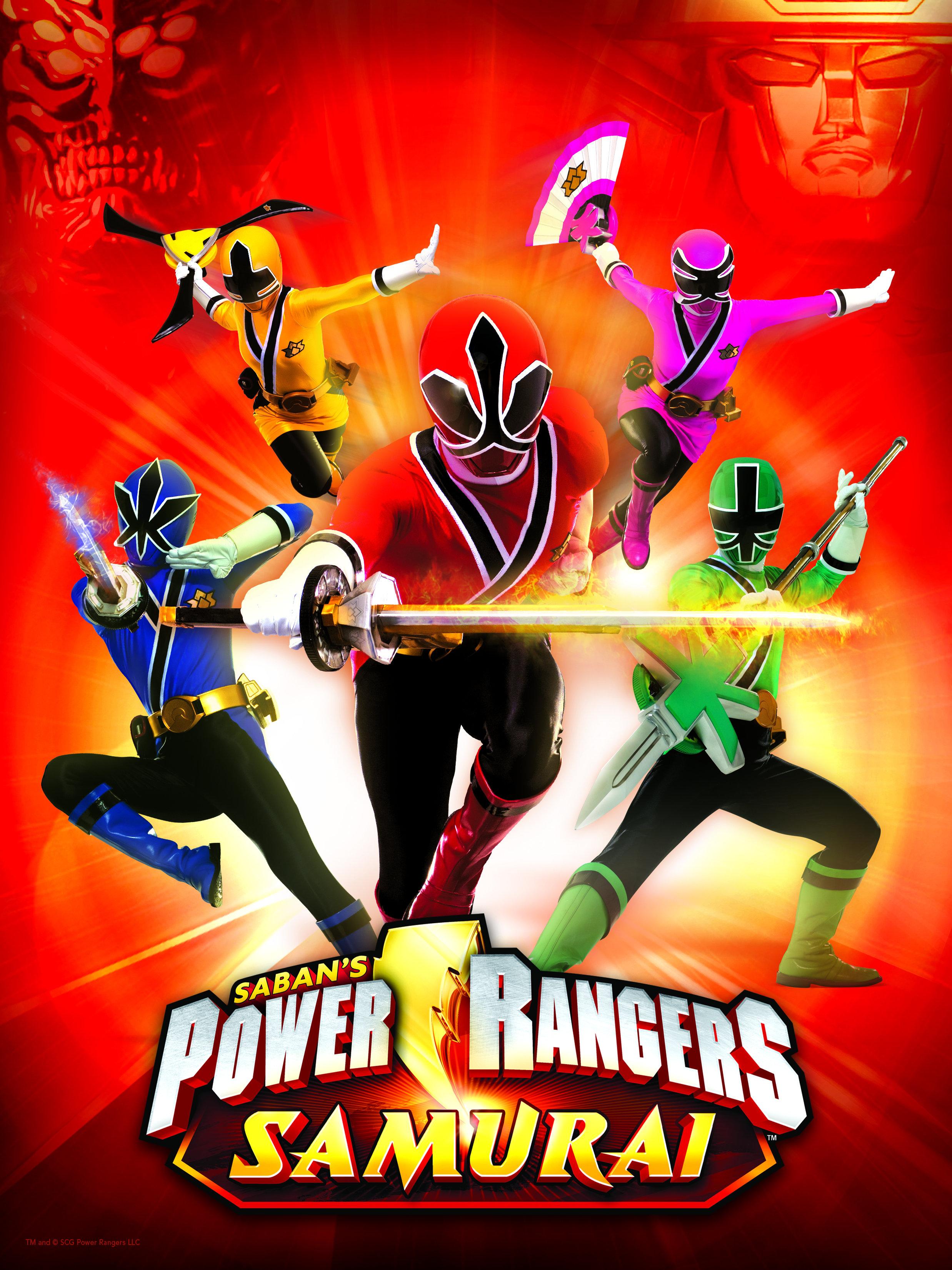 Power Rangers Samurai kapak