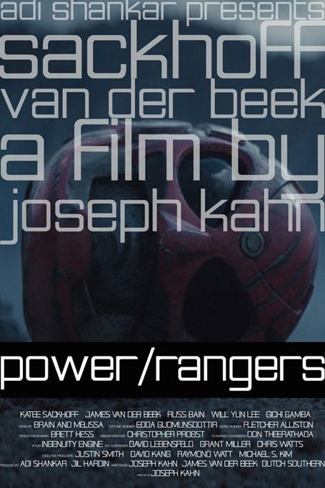 Power/Rangers kapak