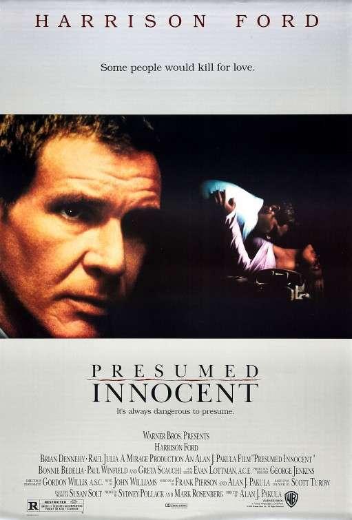 Presumed Innocent kapak