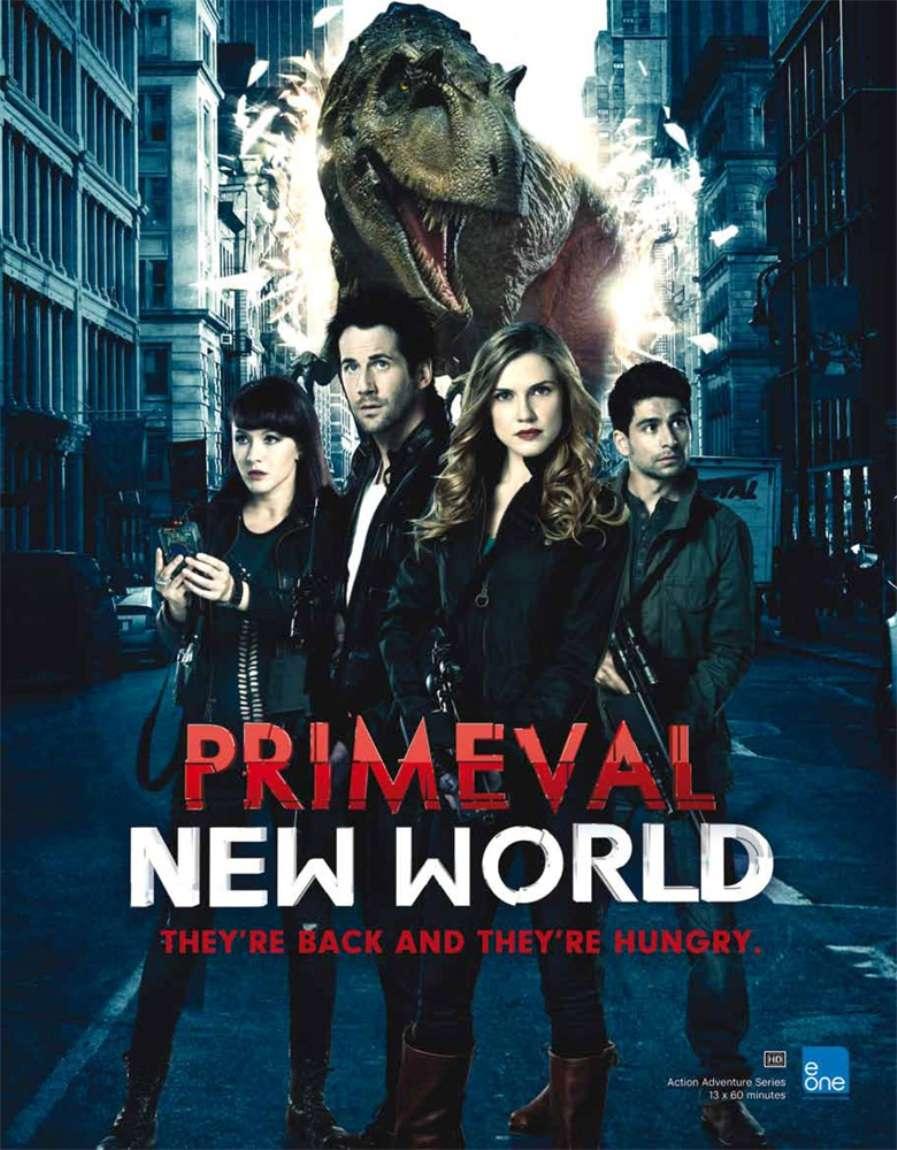 Primeval: New World kapak