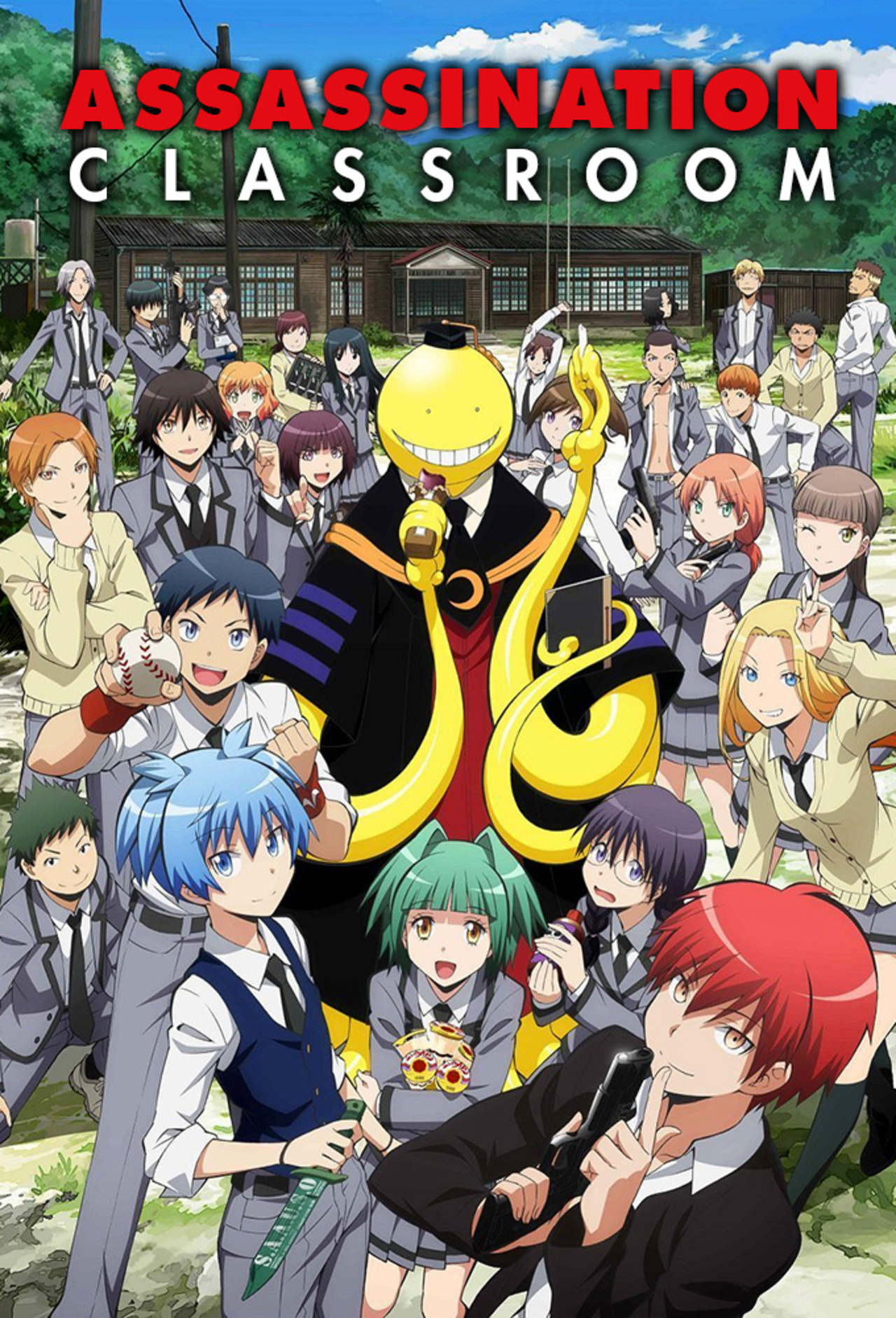 Assassination Classroom kapak