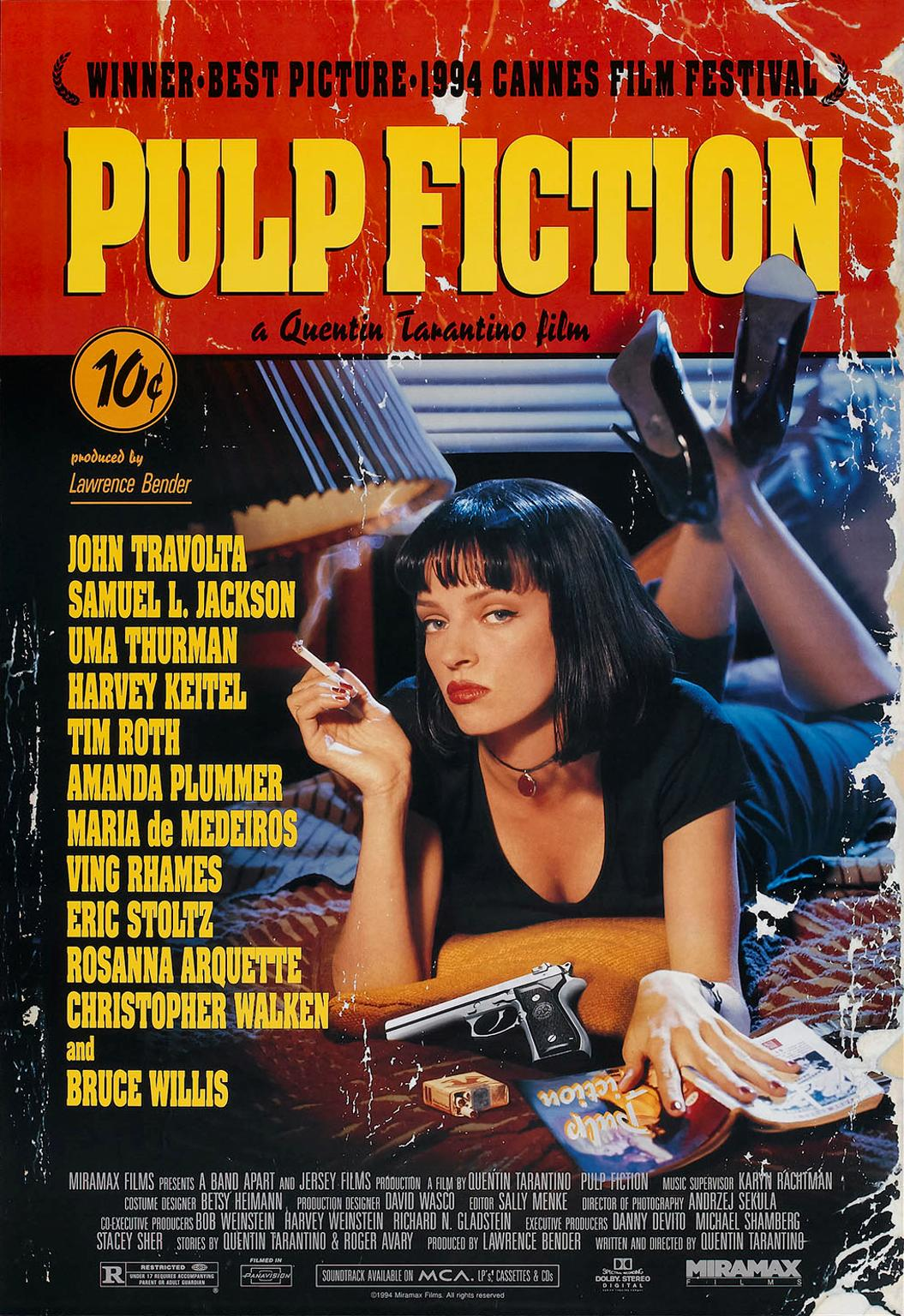 Pulp Fiction kapak