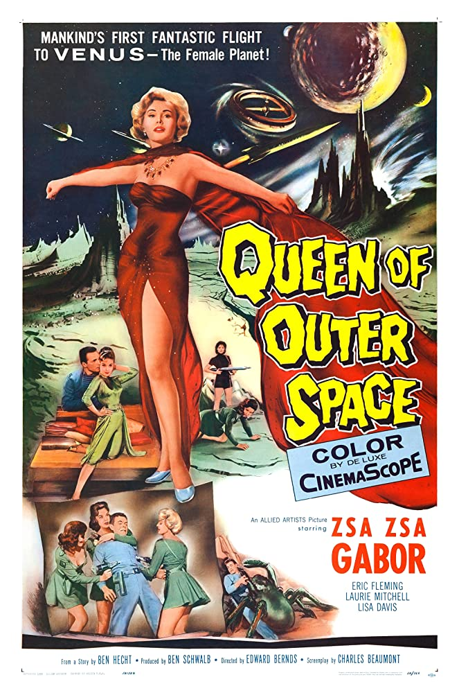 Queen of Outer Space kapak