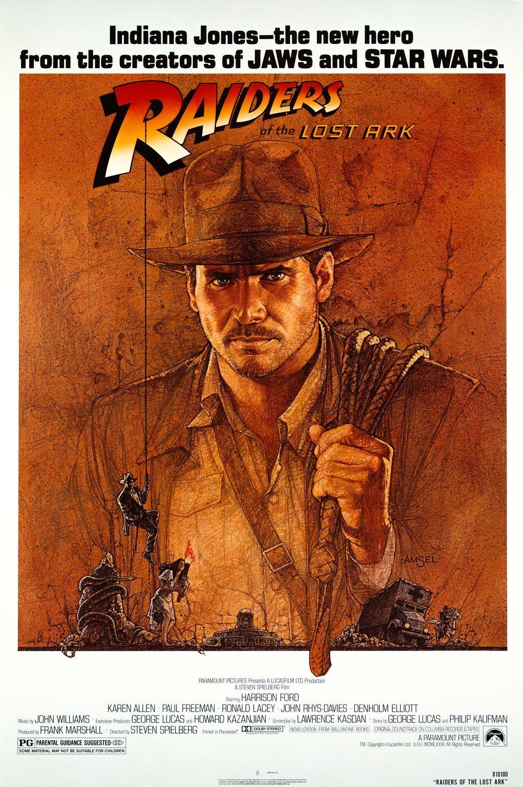 Indiana Jones and the Raiders of the Lost Ark kapak