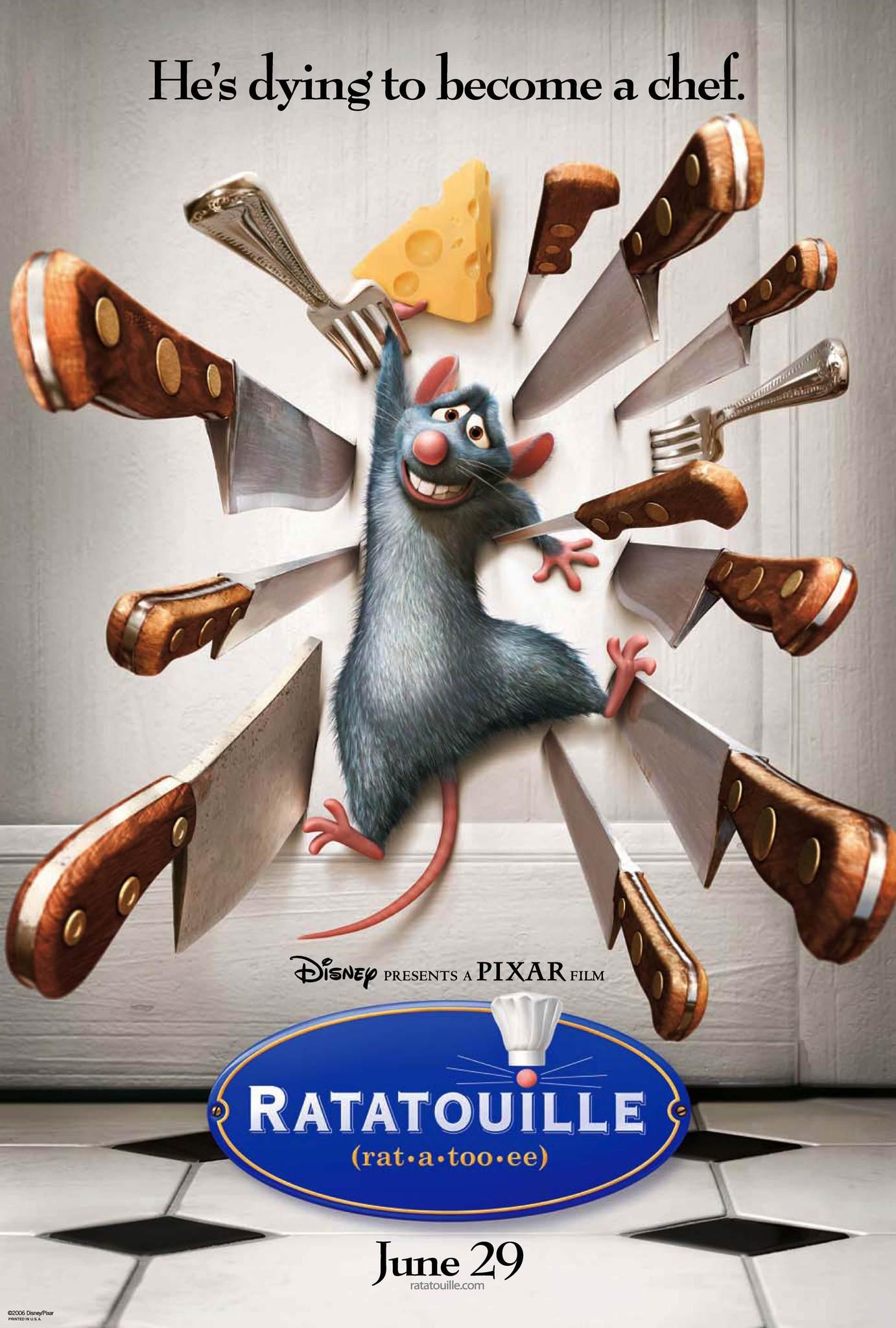 Ratatouille kapak