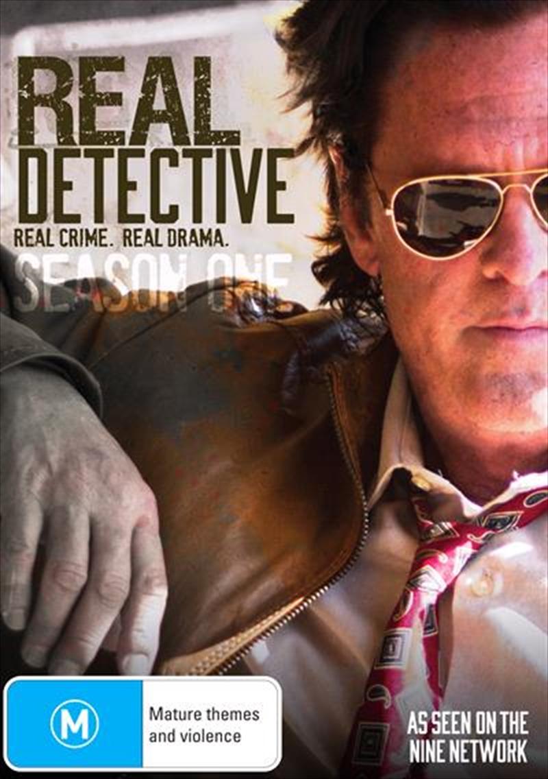 Real Detective kapak