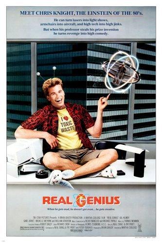 Real Genius kapak