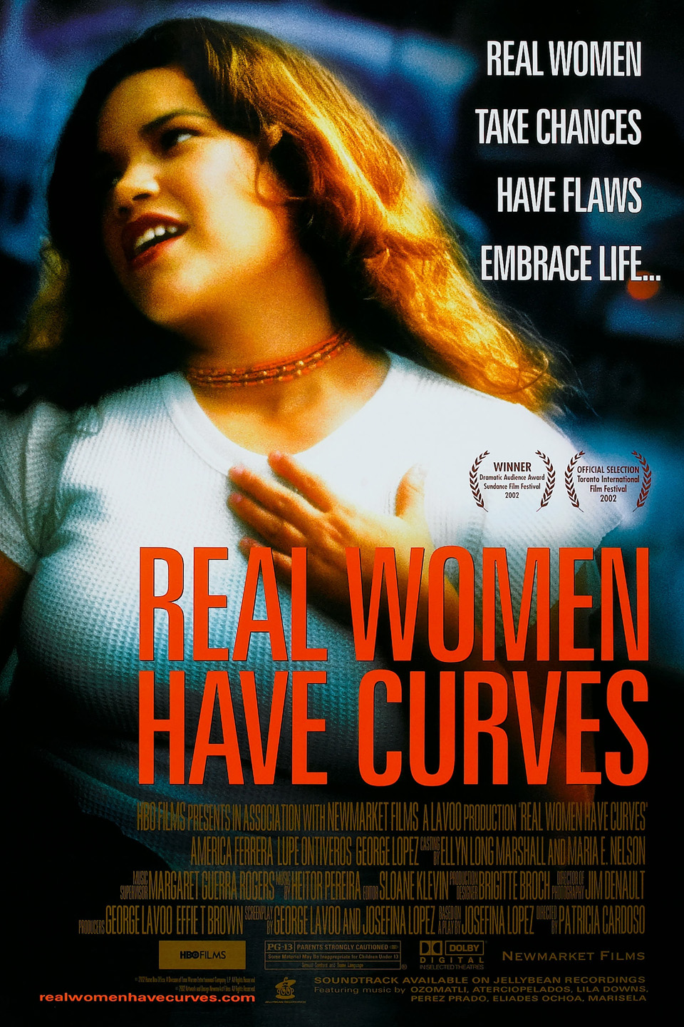 Real Women Have Curves kapak