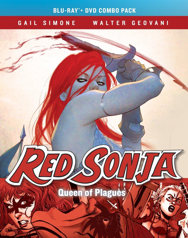 Red Sonja: Queen of Plagues kapak