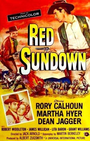 Red Sundown kapak