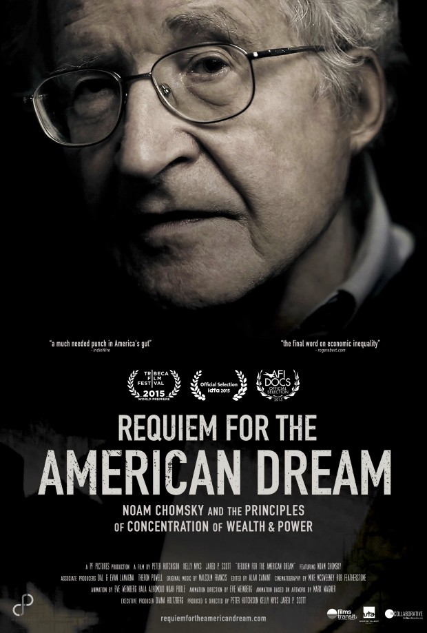 Requiem for the American Dream kapak