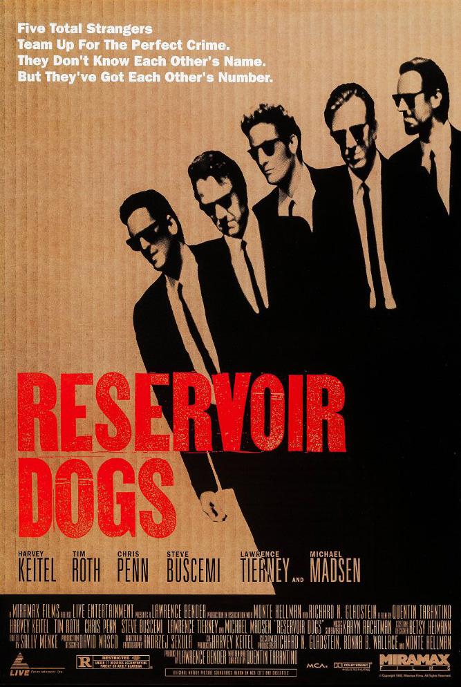 Reservoir Dogs kapak