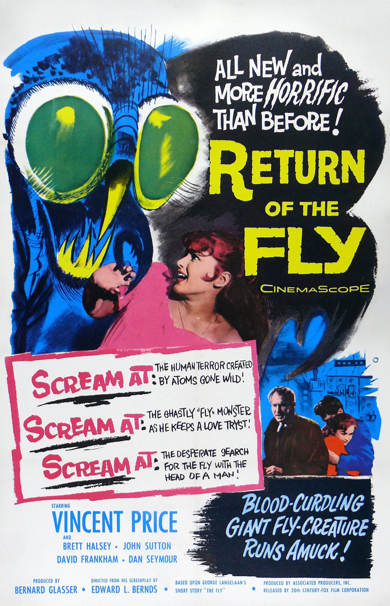 Return of the Fly kapak